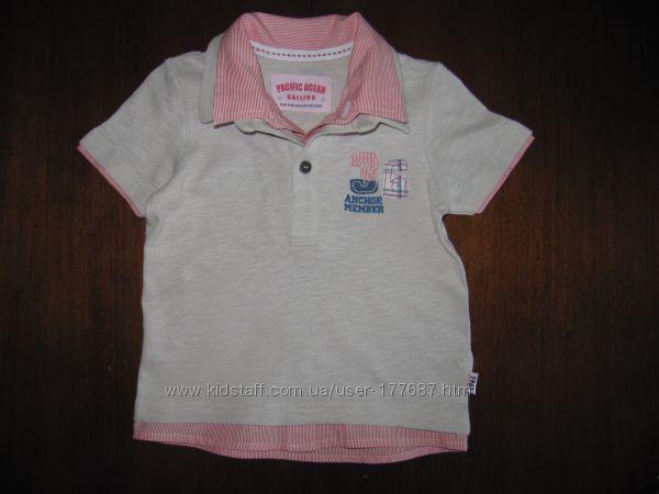 футболка -обманка Mothercare, 92р. , 18-24 мес.