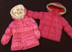 Курточки на девочку, новая, Oshkosh Bgosh, Carters, 3-4 года
