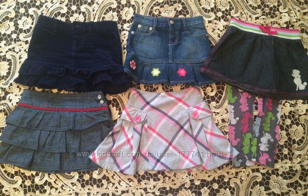 юбка, бренда Ralph Lauren, Gymboree, Crazy8, размер 4, 5,