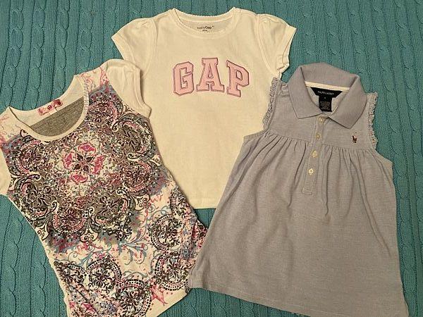 футболки, Ralph Lauren, GAP, оригинал, 4