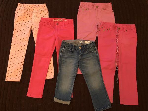 Джинсы, брюки, состояние новых, Ralph Lauren, gap, 5-6 лет