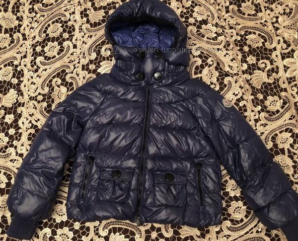 Куртка - пуховик, Moncler, оригинал, 6-9 лет