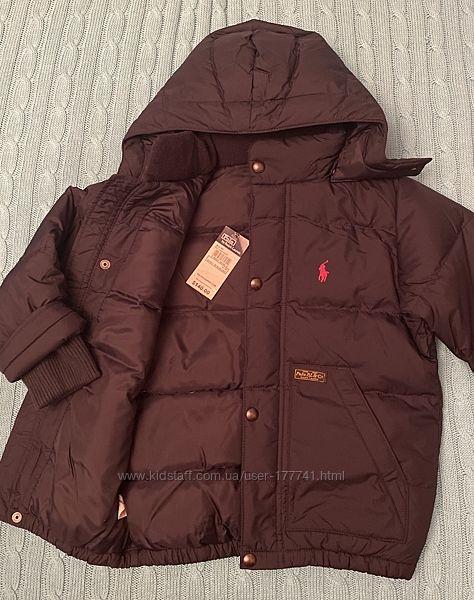 Куртка пуховик Ralph Lauren, оригинал, 4т
