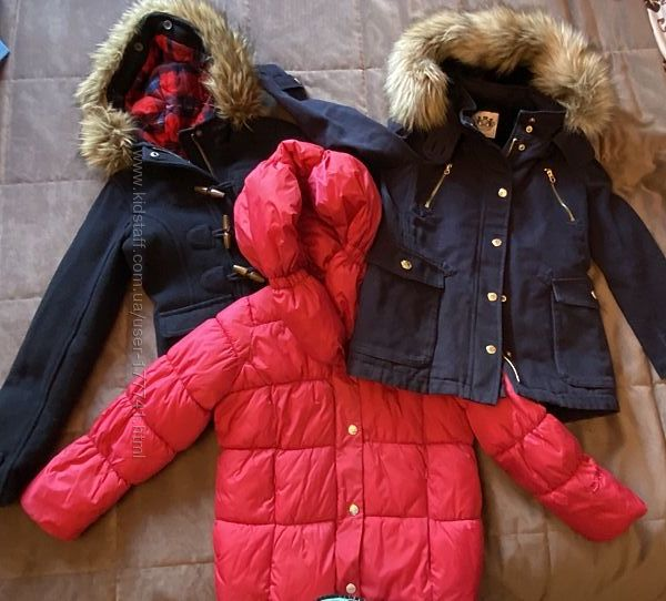 Куртка, парка Juici Couture, DKNY, Abercrombie