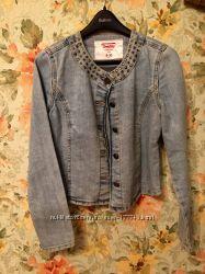 Джинсовая курточка на весну-лето