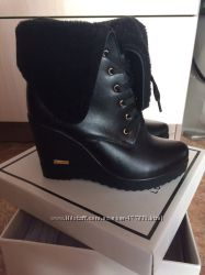 зимние полу ботинки