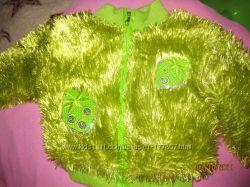 куртка-шубка детская осенняя