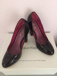 Туфли черные лак Blink