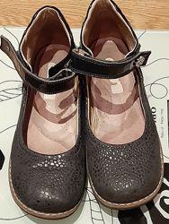 Школьные кожаные туфли Topitop, стелька 22 см