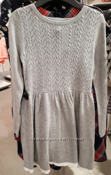 Платье  туника теплое в наличии H&M пайетками
