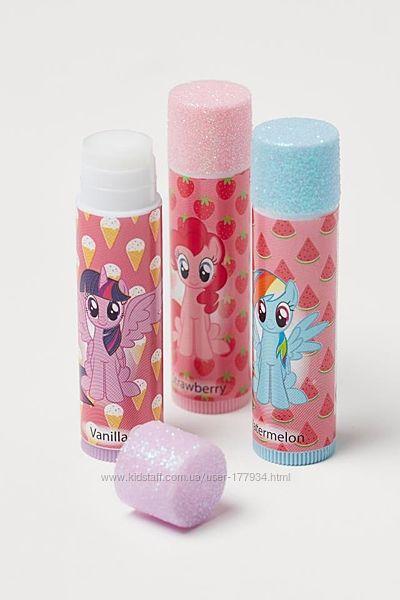 H&M заколки резинки пони my pony в наличии