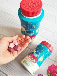 Solgar, U-Cubes, детский кальций с витамином D3,60 жеват. таблеток