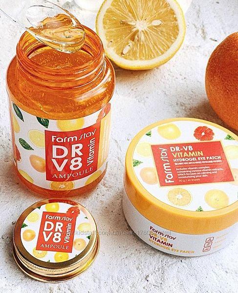 сыворотка Farm Stay Dr-V8 Vitamin Ampoule Корея