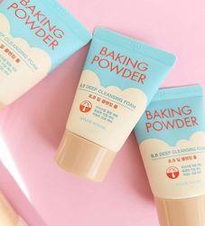 Пенка для умывания и глубокой очистки baking powder bb deep cleansing foam