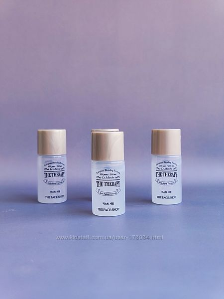 Пробник сыворотки the face shop  the therapy first serum