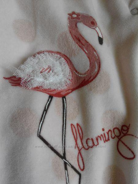 Велюровый человечек Caramel Фламинго Состояние новой вещи