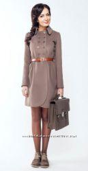 Стильное пальто Асоль ТМ SAESON на стройную девушку