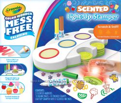 Crayola Набор для творчества Весёлые штампы Color Wonder Light Up Stamper