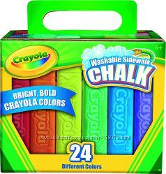 Мел для асфальта Crayola
