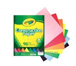 Цветная бумага 96 листов Crayola