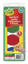 Краски для малышей Мои первые краски Crayola My First Jumbo Washable Wate