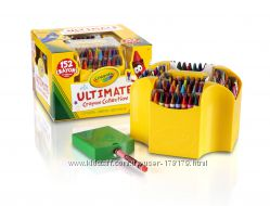 Карандаши крайола 152 шт Crayola на основе воска Ultimate Crayon Collection