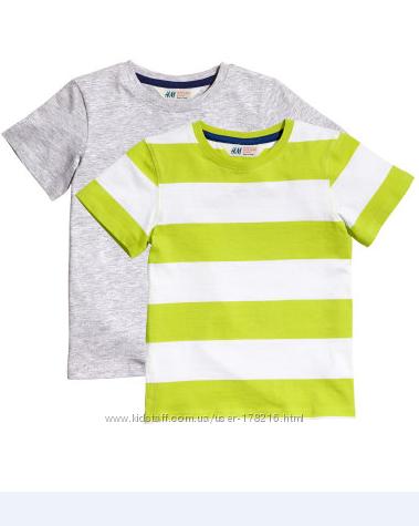 Фирменные футболочки H&M, ZARA