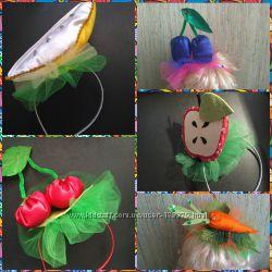 Аксессуары к осенним карнавальным костюмам - фрукты