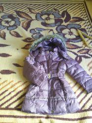 Удлиненная куртка или пальто для девочки LAREDUOTE