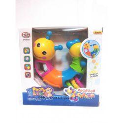 Развивающая игрушка Веселая гусеница Расти Малыш