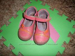 Туфли кожанные Kickers