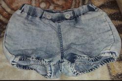 Шортики джинсовые для девочки