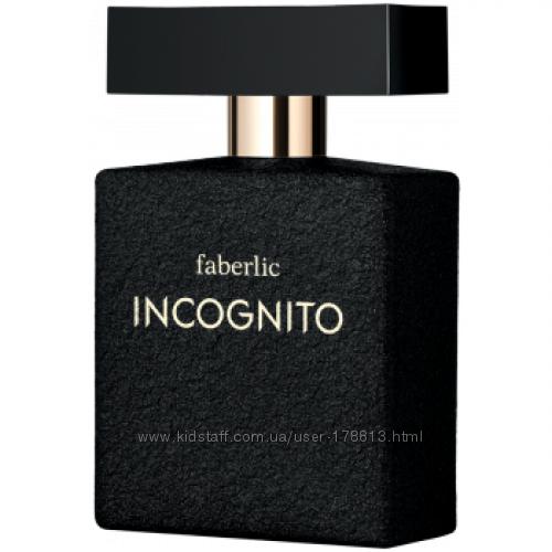 Туалетная вода для мужчин Incognito от Faberlic