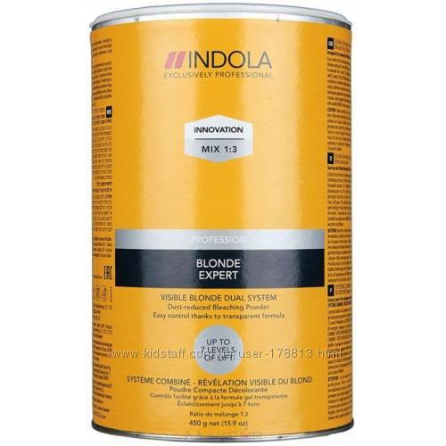 Пудра для обесцвечивания волос Visible Blond Indola