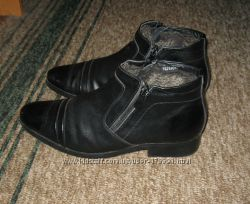 Мужские зимние туфли-ботинки Patriot