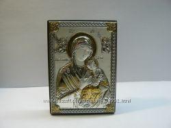 Икона из серебра и позолоты