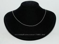 Серебряная цепочка колье