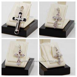 Серебряный крест 925