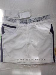 Шикарная юбка с камнями Сваровски от SASSOFONO новая с бирками
