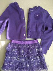 Очень красивый комплект 2 болеро  юбка от Children Place