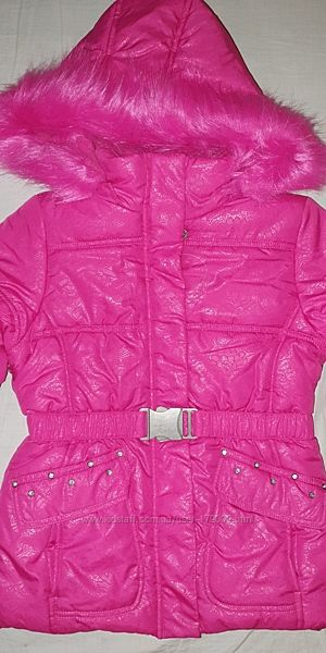Шикарная теплая куртка TM Rothschild США. Р 5-6