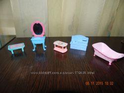 мебель для пупсіків , маленьких куколок