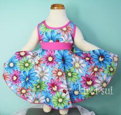 Платья известного бренда KIREI SUI 2-5 лет