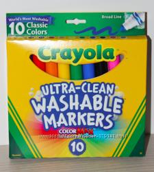 Маркеры смываемые и карандаши Crayola в наличии, оригинал