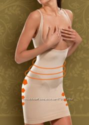 Корректирующее бесшовное платье - высокая степень утяжки