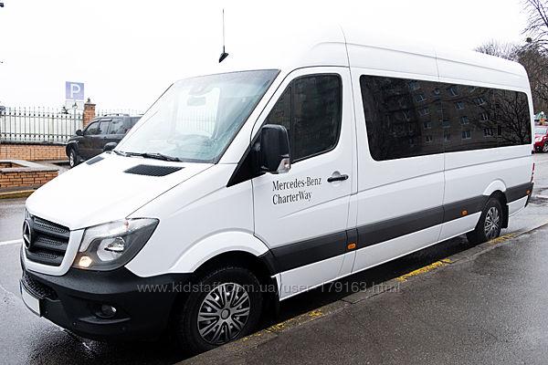 пассажирские перевозки 8-местным микроавтобусом Mercedes Sprinter
