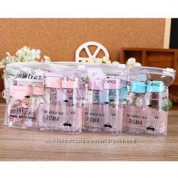 Набор баночек ёмкостей для косметики для путешествий или в роддом