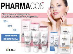 серия BIODERMIN Pharmacos 30 40 50 plus антикупероз Белорусская косметика