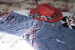 Комбез и шляпка Италия