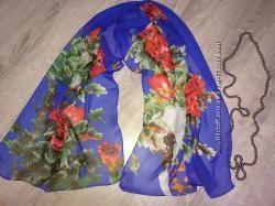 Шарф шарфик платок женский декоративный